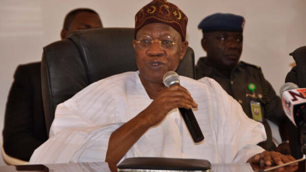 Our recession will be shortlived - Lai Mohammed