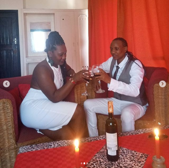 Kenyan first-ever openly lesbian rapper, Gammo Suspect,