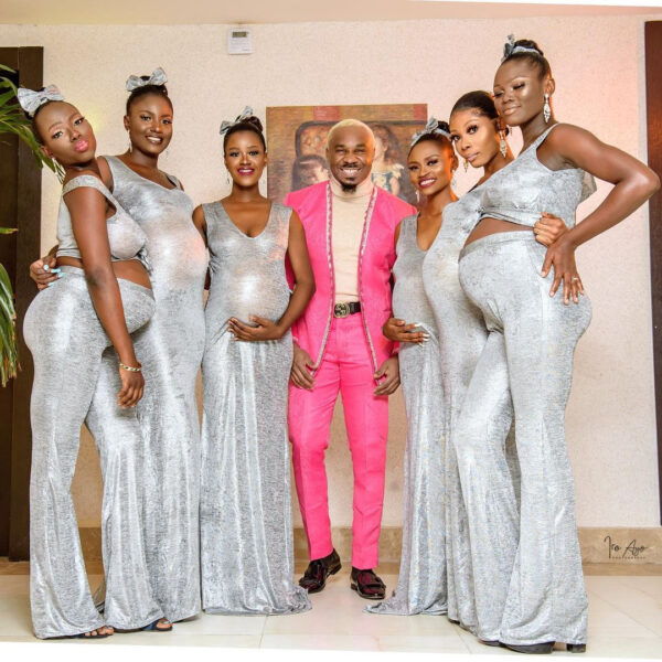 Pretty Mike attends Williams Uchemba's wedding with Heavily pregnant women