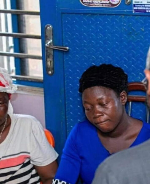 Femi Gbajabiamila, visits family of vendor shot dead by his Security aide (photos)