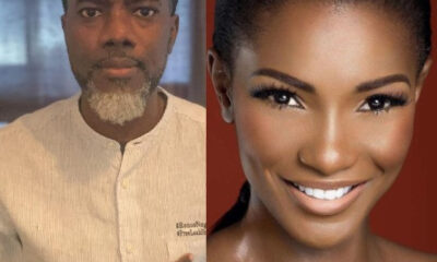 Agbani Darego did not bleach Reno Omokri