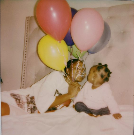 Simi celebrates her 6-month-old daughter