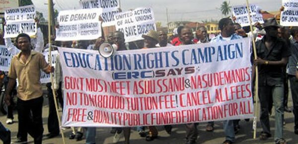 ERC threatens nationwide protest over ASUU strike