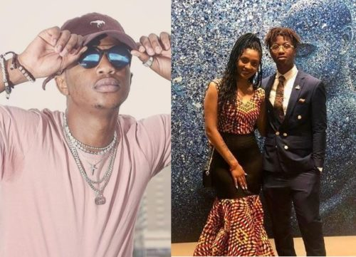 Emtee's wife, Nicole reacts to abuse allegations against her