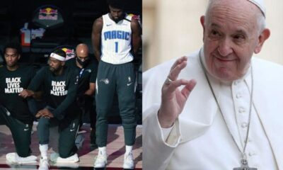 Five NBA Players Discuss Social Jusitce With Pope Francis In The Vatican