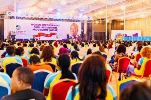 Delta governor preaches women empowerment as key to taking Nigeria out of poverty