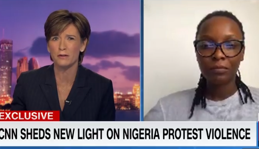 #EndSARS: DJ Switch speaks to CNN's Becky Anderson on the Lekki shooting incident