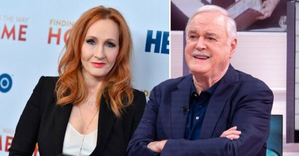 "John Cleese Called ""Transphobic"" For Defending J.K. Rowling On Twitter"
