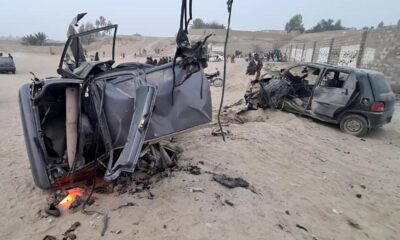 2 killed 8 inured in explosion near football ground in SW Pakistan