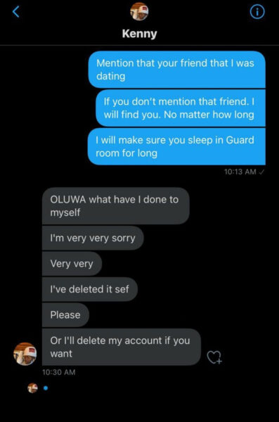 Twitter user exposed after he tried to destroy a newly-engaged couple's relationship by accusing the groom-to-be of infidelity