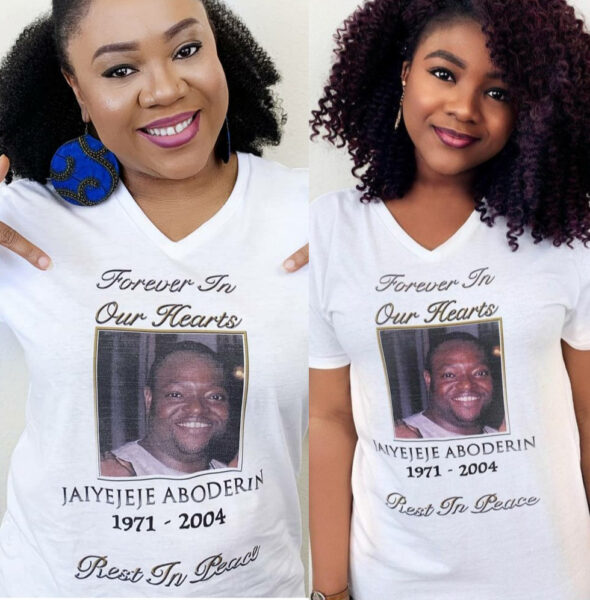 Stella Damasus, her daughter, remembers her late husband on the 16th anniversary of his death