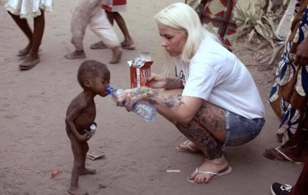 Danish aid workers Anja Ringgren Loven calls out Nigerian women