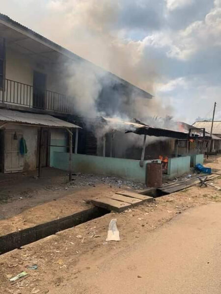 Land dispute: Two killed, houses razed between two communities in Delta