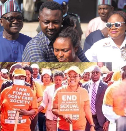 Benue First Lady leads walk against gender-based violence