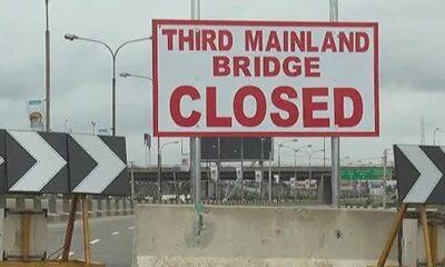 FG to shuts Third Mainland Bridge For 72-hour