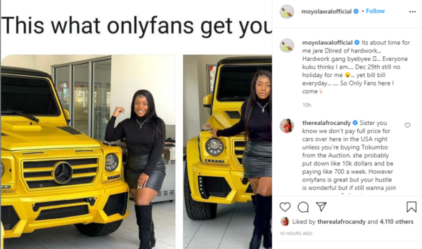 Actress Moyo Lawal hints on joining OnlyFans1