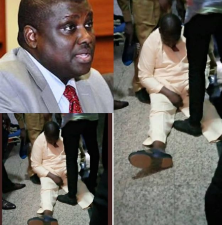 Abdurasheed Maina collapses in court