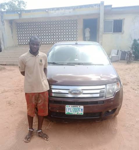 Car wash attendant nabbed for fleeing with customer's car