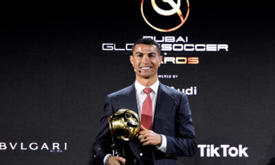 Cristiano Ronaldo winS player of century award