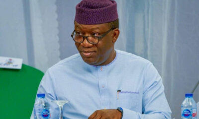 Governor Kayode Fayemi Says Insecurity In Nigeria is frustrating