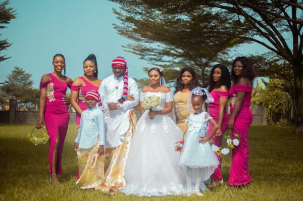 Groom wears traditional Efik attire for his church wedding in Akwa Ibom2