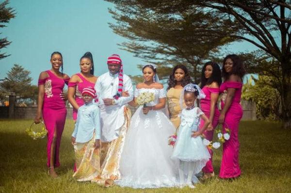 Groom wears traditional Efik attire for his church wedding in Akwa Ibom3