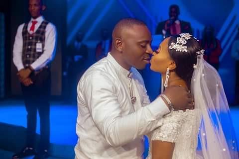 Groom wears traditional Efik attire for his church wedding in Akwa Ibom5
