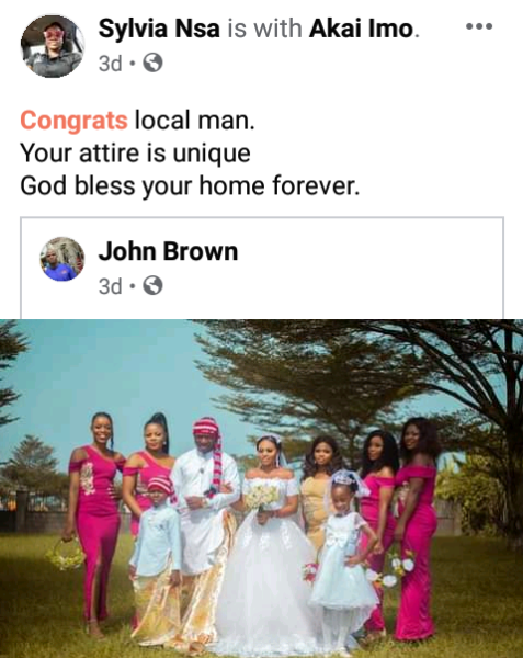 Groom wears traditional Efik attire for his church wedding in Akwa Ibom8