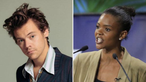 """Harry Styles Responds To Candace Owens' """"Bring Back The Manly Men"""" Comments"""