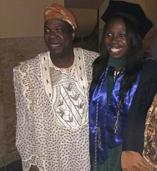 Man gets his PhD at 65 to fulfil promise he made to his daughter