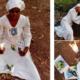 Nigerian lady starts 30 days fasting and prayers for Hushpuppi photos
