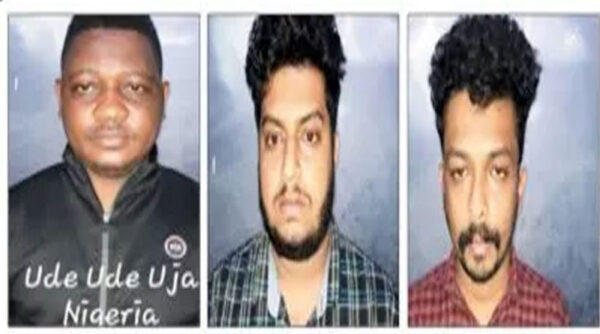 Nigerian national two Indians arrested with drugs worth over N2m