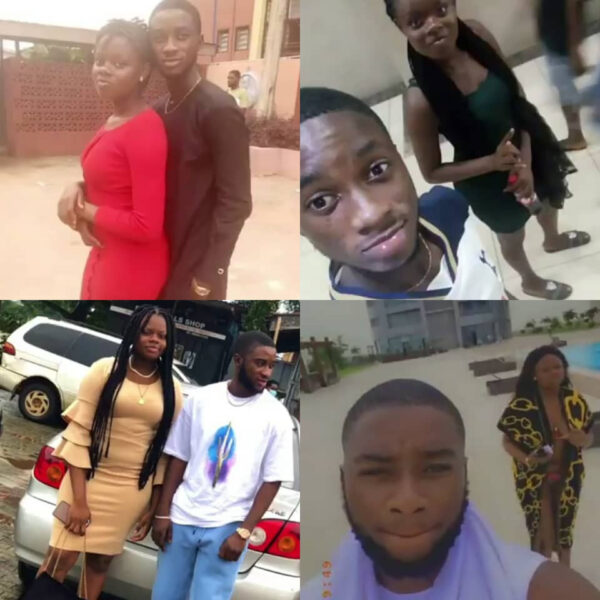 Nigerians react to viral video of couple who started small dating but are now doing well financially