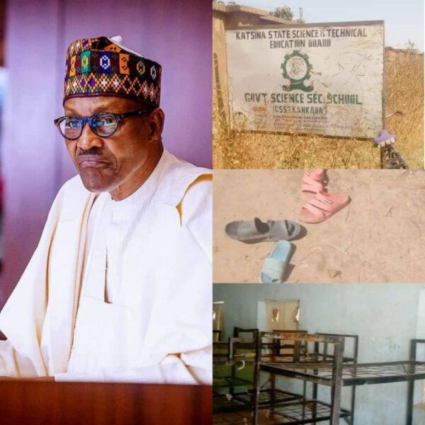 President Buhari strongly condemns attack on Katsina secondary school