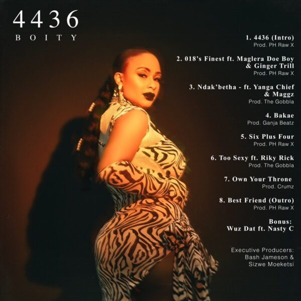 """Boity drops forthcoming EP """"4436"""" tracklist"""