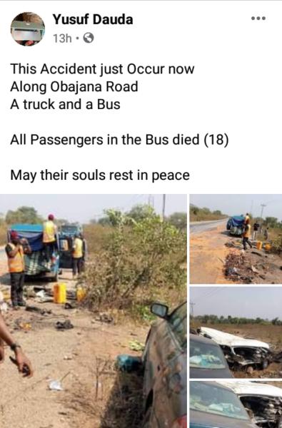 14 killed in ghastly auto crash