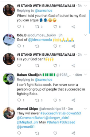 President Buharis supporters react to US Capitol invasion
