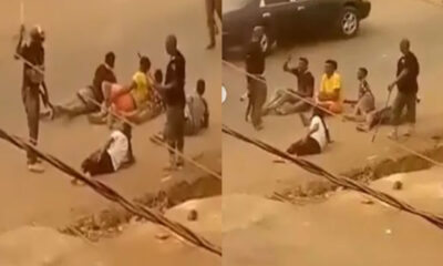 policemen spotted in a viral video