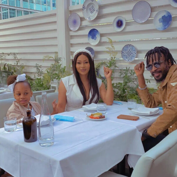 9ice wife and daughter enjoy their vacation in Dubai photos