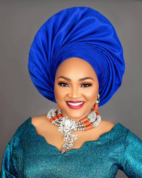 ACtress and Mum of two Mercy Aigbe turns a year older today January.1