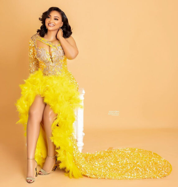 ACtress and Mum of two Mercy Aigbe turns a year older today January.3