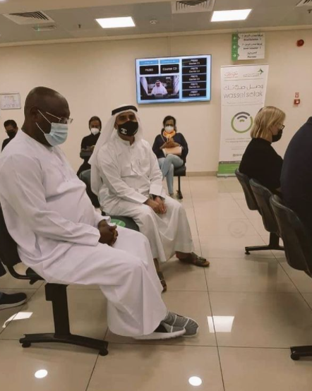 Atiku Abubakar receives Coronavirus vaccine1