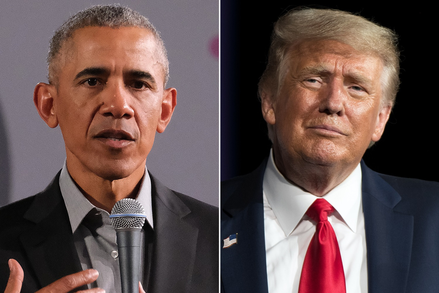 Barack Obama accuses Donald Trump of inciting violence at the U.S Capitol building