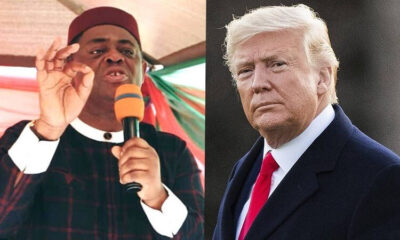 Before you condemn and criticise Trump and say he will go to jail kindly consider your own pitiful condition FFK tells Nigerians