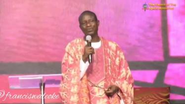 Clergyman Wale Oke testifies