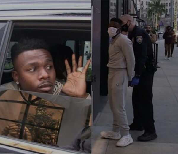 DaBaby arrested on Beverly Hills with friends as cops allegedly found a gun in their possession