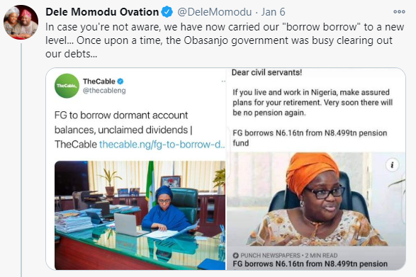 Dele Momodu and Lauretta Onochie clash on Twitter..1