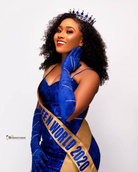 Faith Ajayi wins The Melanin Queen Nigeria World beauty pageant2