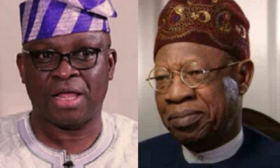 Fayose slams Lai Mohammed over security challenge