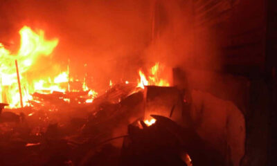 Fire outbreak at Nigeria Immigration Service headquarters